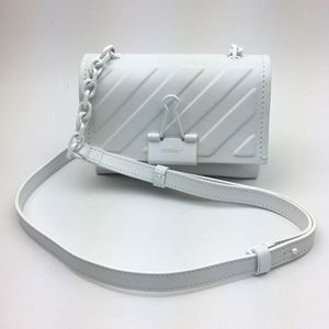OFF-WHITE Small Binder Clip Diagonal Embossed bag